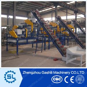 hazelnut shelling and separating combine machine