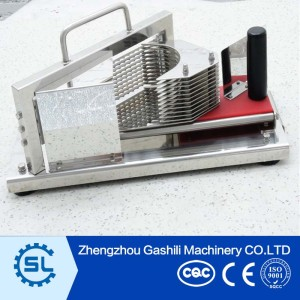 Portable manual fruit slicer machine