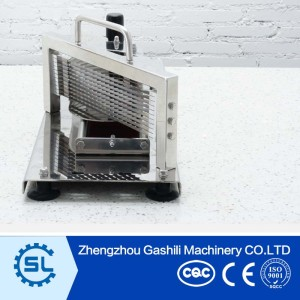 Well-adapted commercial fruit slicing machine