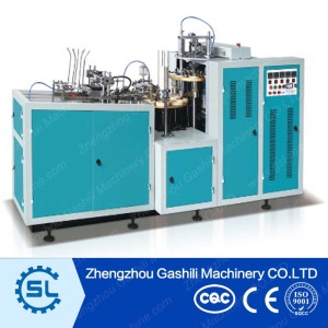 Multifunctional disposable paper coffee cup making machine with CE certificate