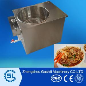 Chinese characteristic food polular cold rice  noodle making machine