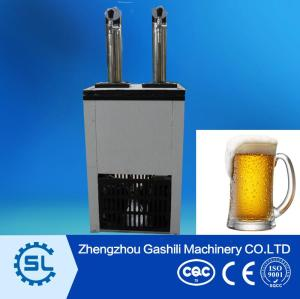 New design high efficiency draft beer cooler plastic machinery price