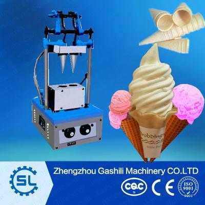 newly design waffle cone baker ice cream cone machine for sale