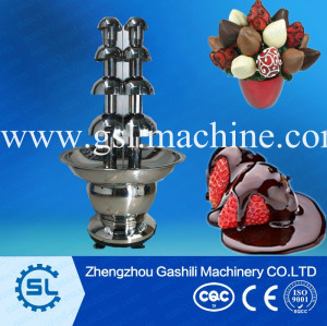 commerical use chocolate fountain machine chocolate fondue fountain price