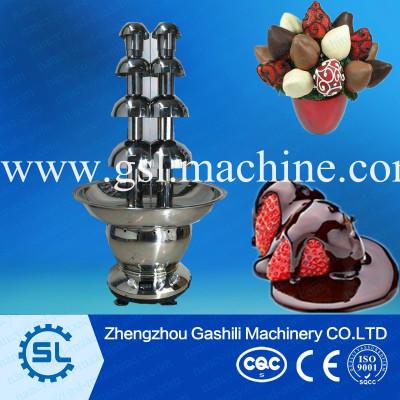 commerical use chocolate fountain machine chocolate fondue fountain price