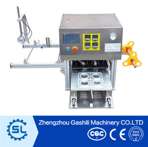 Golden supplier fruit juice cup sealer machine