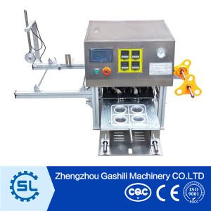 Golden supplier fruit juice cup sealer machine
