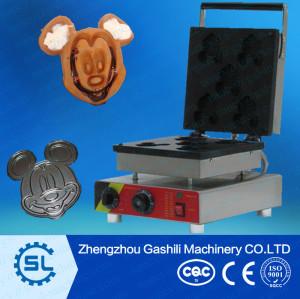 newly design mickey waffle maker machine /waffle making machine