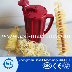 3 function Plastic spiral potato cutter