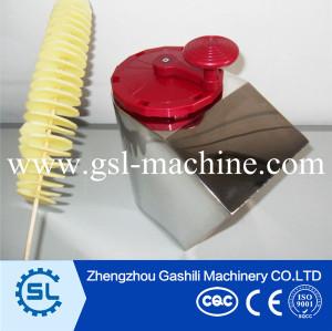Small food processor machine tornado potato twister cutter