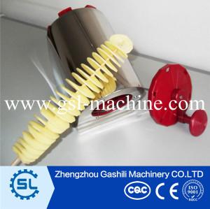Factory manufacturer curly potato cutter machine