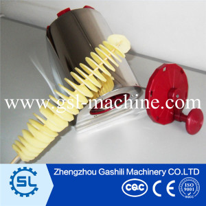 Factory manufacturer curly potato cutter machine