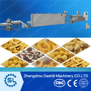Popular snack food line Corn snack making machine with low price