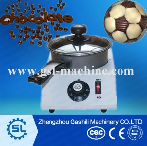 High efficiency chocolate melting pot machine  single tank