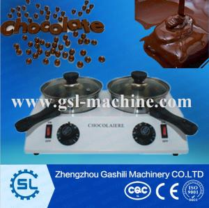 double tank high quality chocolate melting pot for sale
