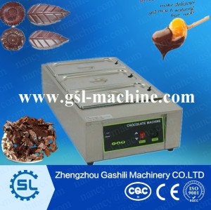 3 tanks electric tempering machine for chocolate