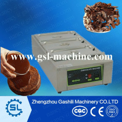 3 tanks chocolate melting pot machine for sale