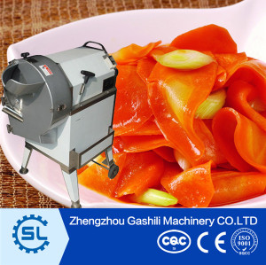 Fresh fruits vegetables Bulbs vegetable cutting machine with high efficiency