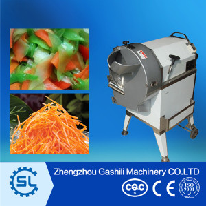 Industrial machinery equipment Cucumber slicer for restaurant using