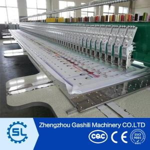 hot sale high speed multi head embroidery machine with factory price