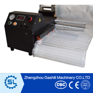 2016Air Bubble Protection Film inflate by air cushion machine