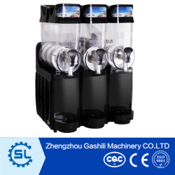 New design 3tanks slush machine