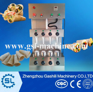 Newly design pizza cone machine /pizza cone oven /cone pizza machine for sale