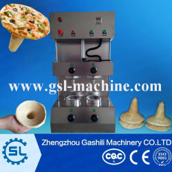 automatic pizza dome maker machine to make pizza cone and circular