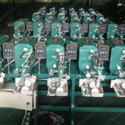 6 spindles automatic sewing thread winding machine