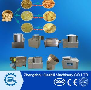 30kg/h semi automatic french fries processing machine