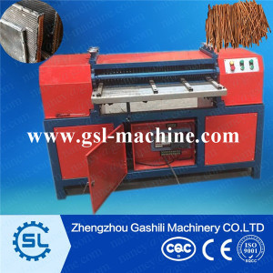 aluminium copper radiator separator /scrap copper recycling machine