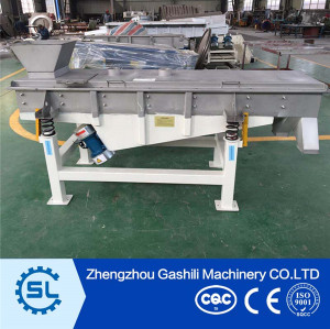 Plant price Grains Linear/Rotary Virbrating Machine for sale