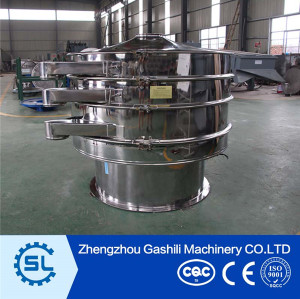 3 Outlets Stainless steel Sand vibrating sieve machine with best price