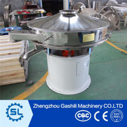 Apple/Coconut Juice and fruit meat separator Rotary vibrating screen for sale
