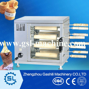 hot sell kurtos kalacs machine/chimney cake oven/chimney cake making machine