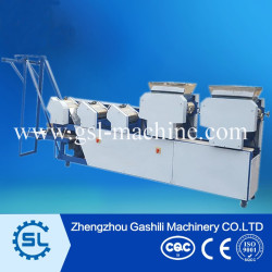 commercial use instant noodle making machine with double hopper