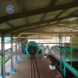 Turnkey automatic 100TPD palm kernel oil milling machine