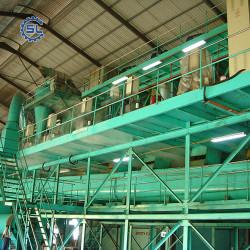 Turnkey crude palm kernel oil press production line