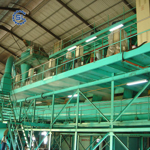 Turnkey crude palm kernel oil press production line
