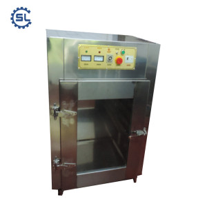 6 pans stainless steel hot air drying fruit oven