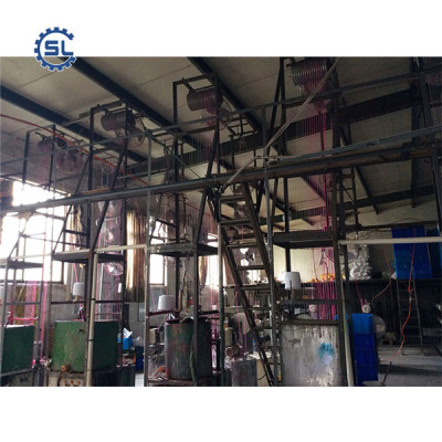 high efficient automatic spiral candle processing line