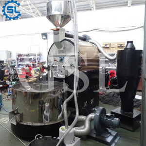China Supplier Commerical Coffee Processing Equipment Coffee Roaster