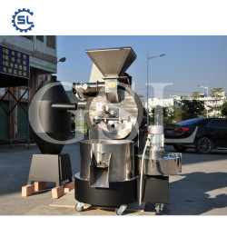 Big Capacity Cocoa/Coffee Beans Roaster Machine For Sale