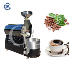 1KG/Batch Small Type Coffee Beans Roasting Machine With Best Price