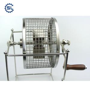 Mini Drum Cocoa Beans Roaster Machine with plant price