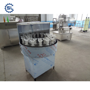 Factory Selling  Semi-Automatic Honey Bottle Washing Machine