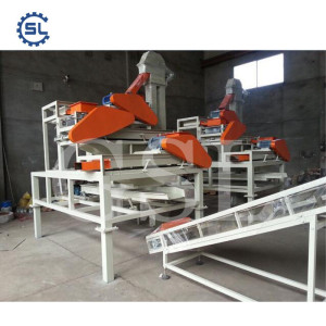 1T Per Hour Almond Cracker Machine/Almond Processing Line for Sale