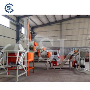 Customized Big Capacity Almond Cracking and Peeling /Shelling Line