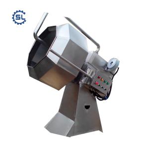Energy saving snack flavour mixer machine/flavor treatment maker/peanut seasoning machine