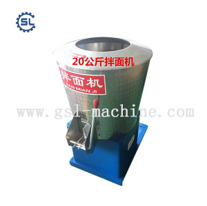 Industrial dough flour mixer for noodle machine
